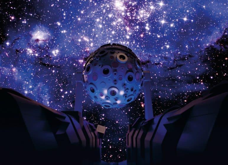 Zeiss-Planetarium Jena, Projektor