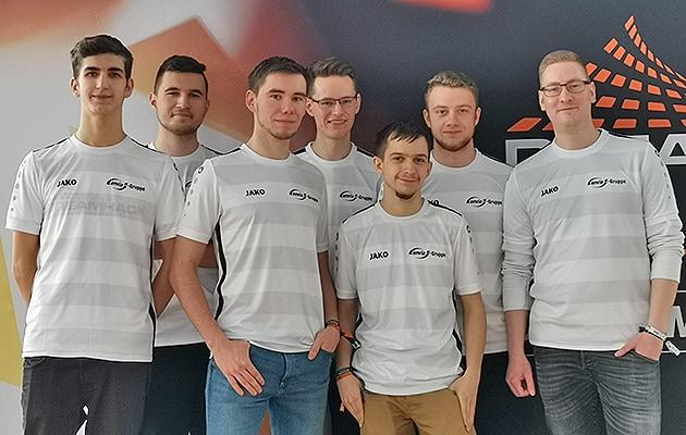 Das eSports-Team der enviaM-Gruppe