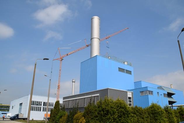 Modernisierung Gas- und Dampfturbinenanlage envia THERM