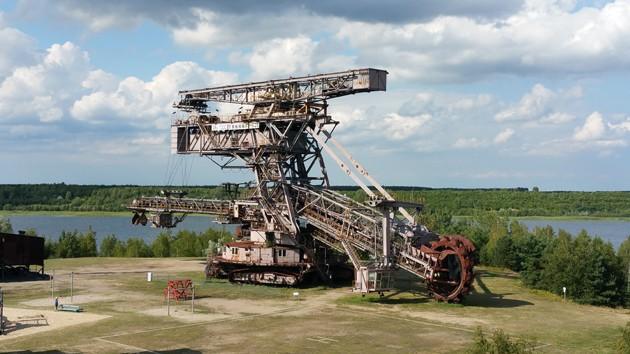 Schauffelradbagger Big Wheel Ferropolis