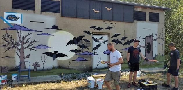 Graffiti Projekt, Zinkweißhütte, Fokuz-Design