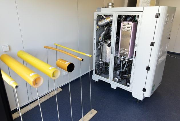 Forschungsprojekt HYPOS:H2-Netz, Wasserstoffdorf