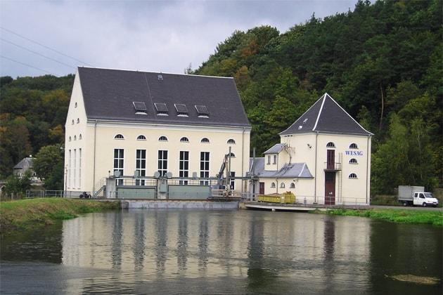 Wasserkraftanlage in Kloster Buch