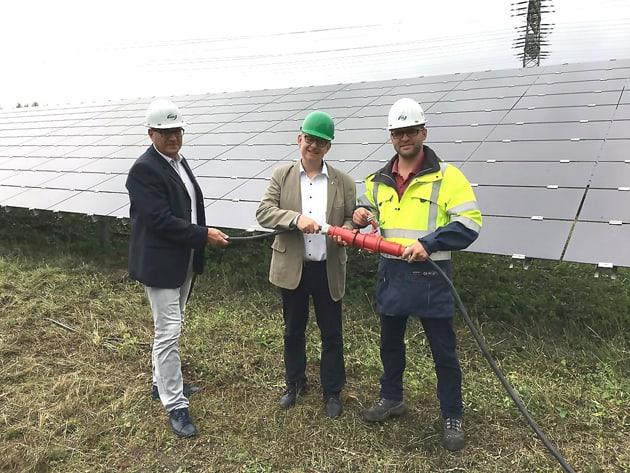 Photovoltaik-Anlage Schkopau