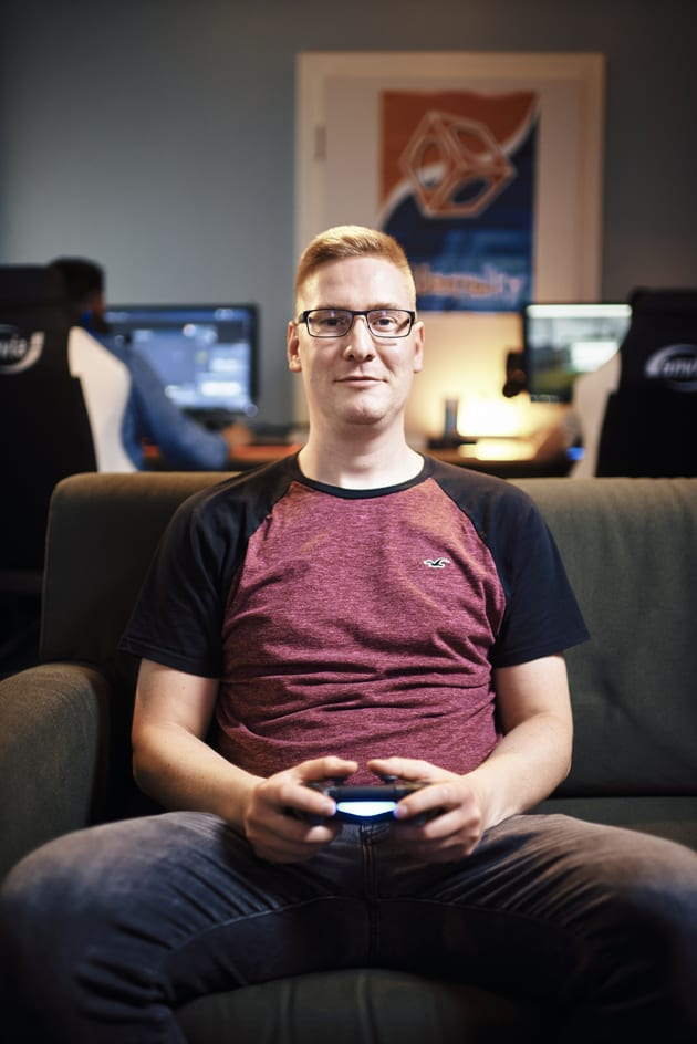 Sebastian Wolfermann beim eSports