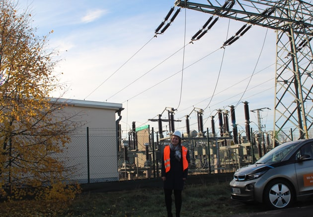 Besuch mit Spannung, Modernisierung Umspannwerk Wansleben
