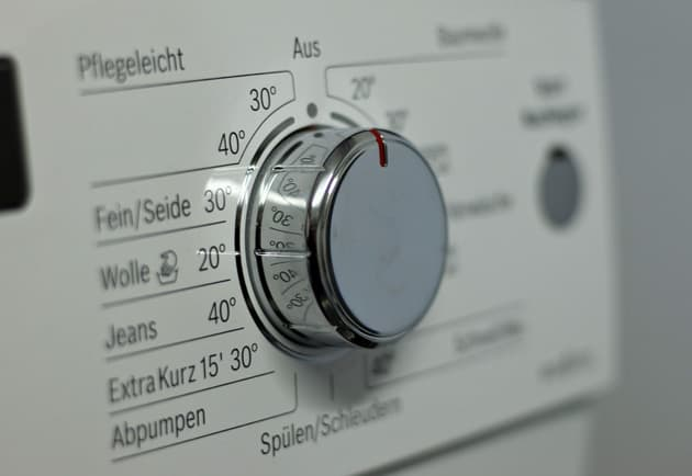 Stromsparen mit der Waschmaschine