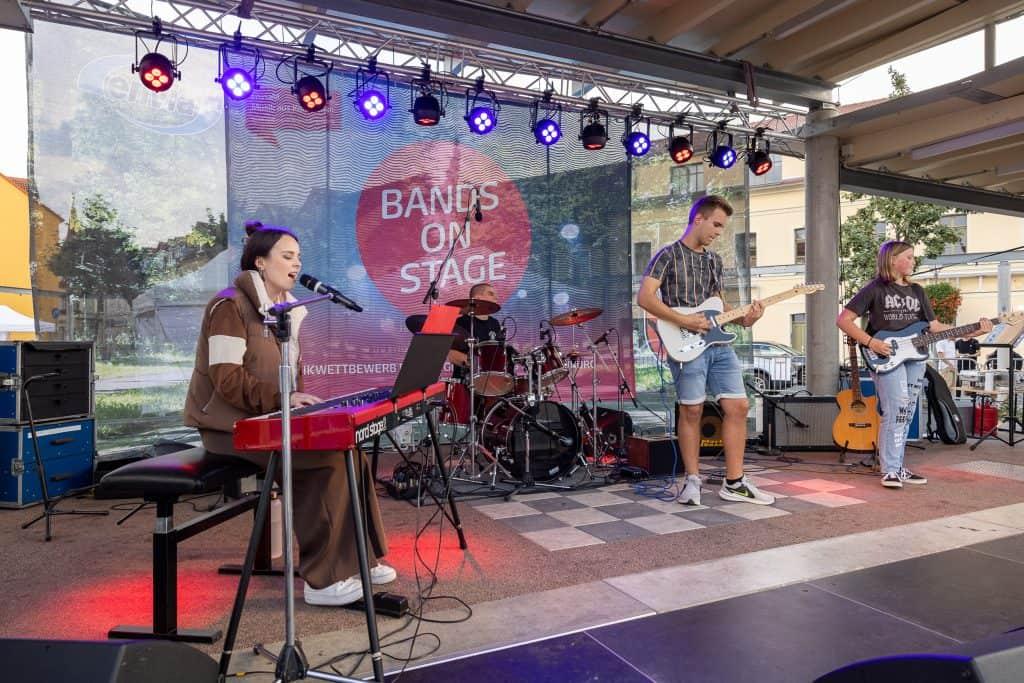 Band High 5 aus Brandenburg beim Landeswettbewerb Musik aus Kommunen